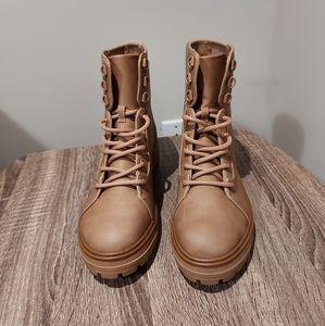 🍂 🎃 Call It Spring Alexia Combat Boots
